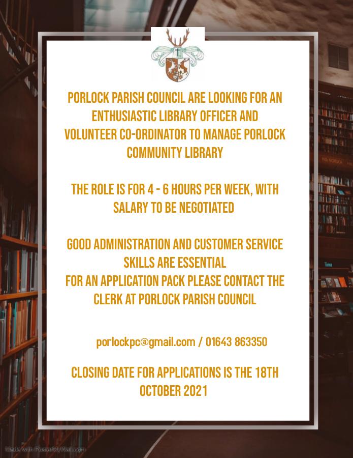 Library Job Advert Option 2